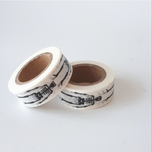 Washi tape skelet